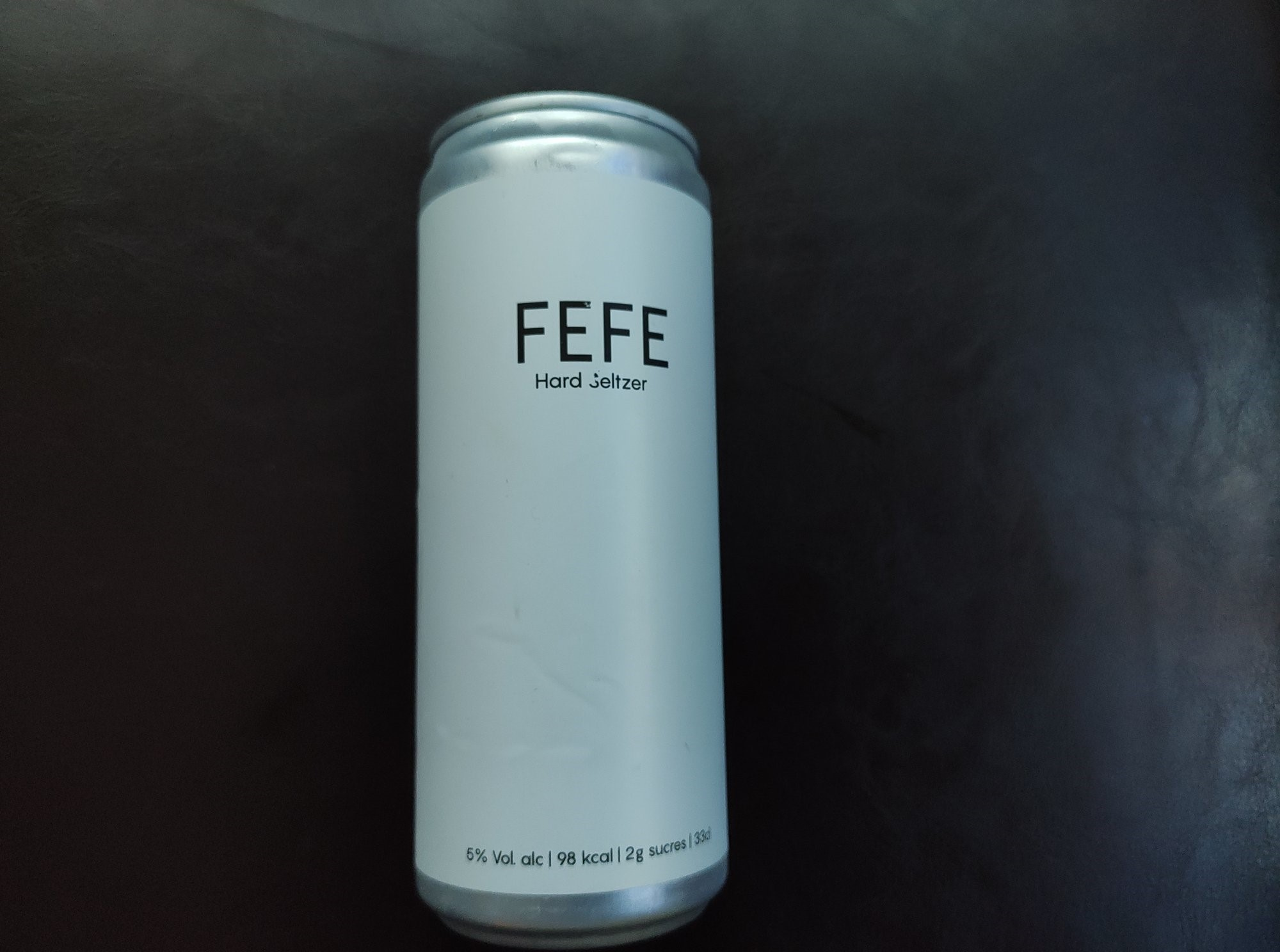 Fefe - Hard seltzer du groupe Syndicat