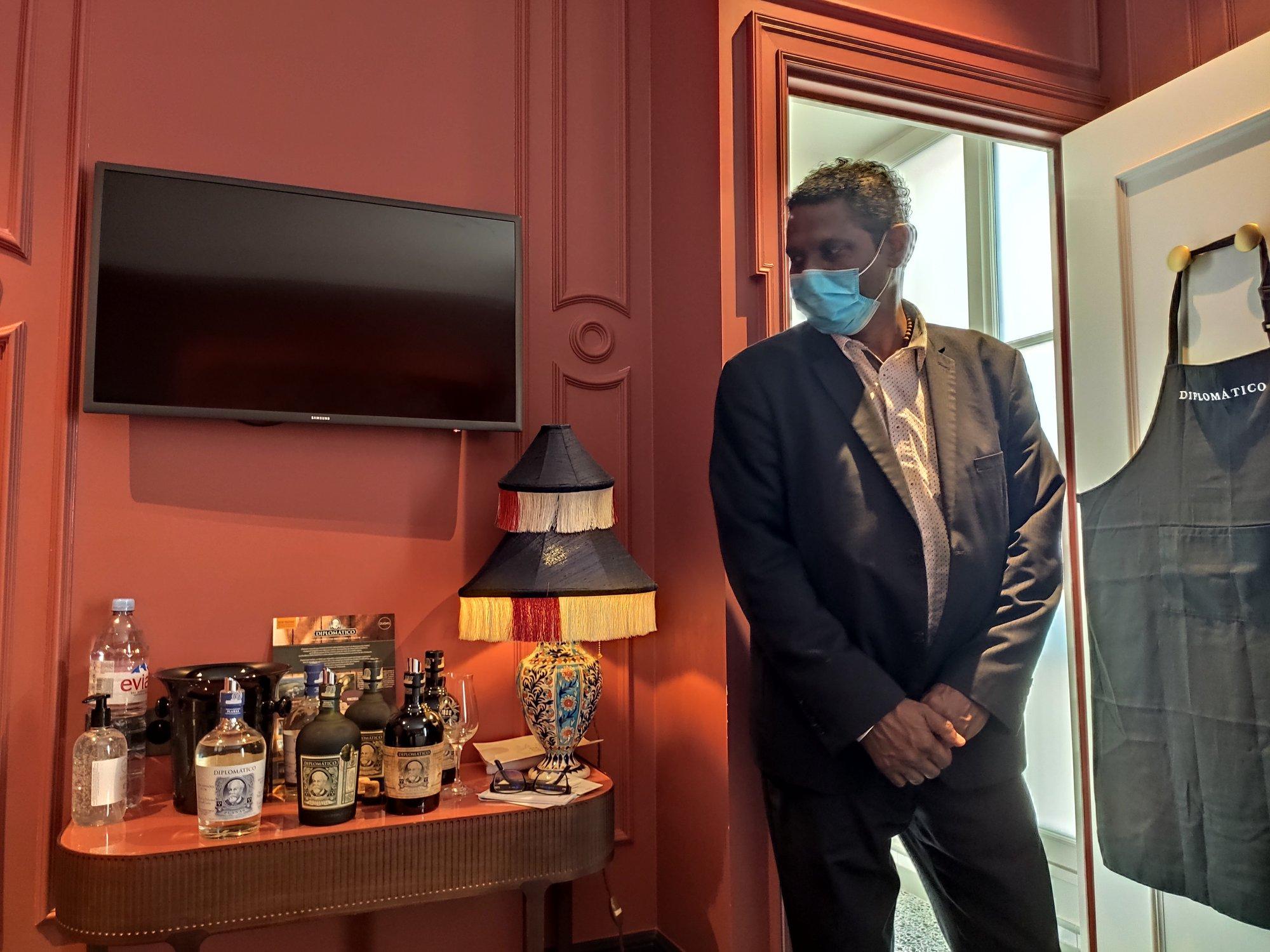 Jean-Luc Narayanan - Brand ambassador Diplomatico