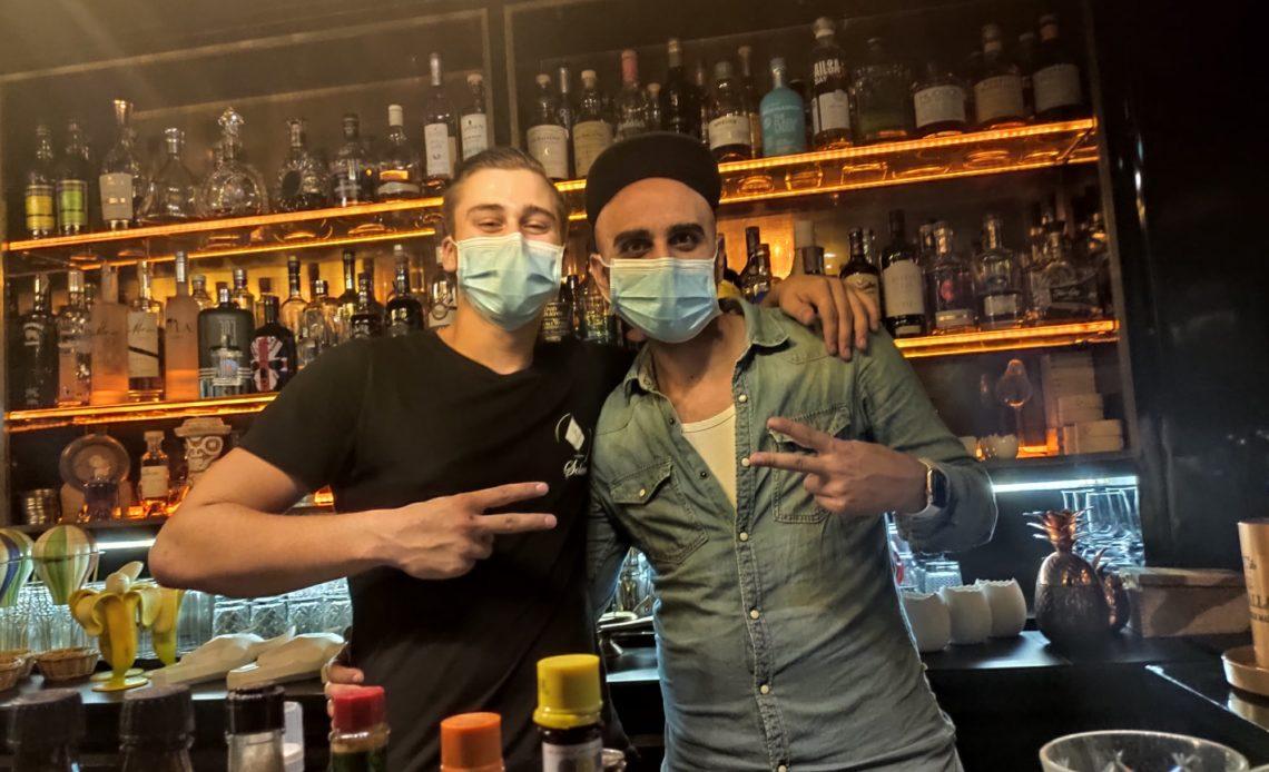 Nathan Gomot et Christopher Gaglione - Solera Paris - Bar à cocktails - Bartenders