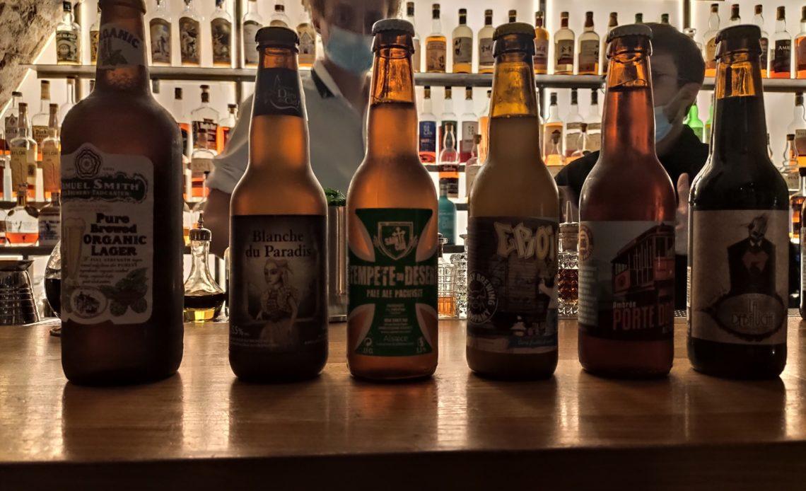 Bières artisanales par DBI et la Maison du Whisky - Bar Golden Promise