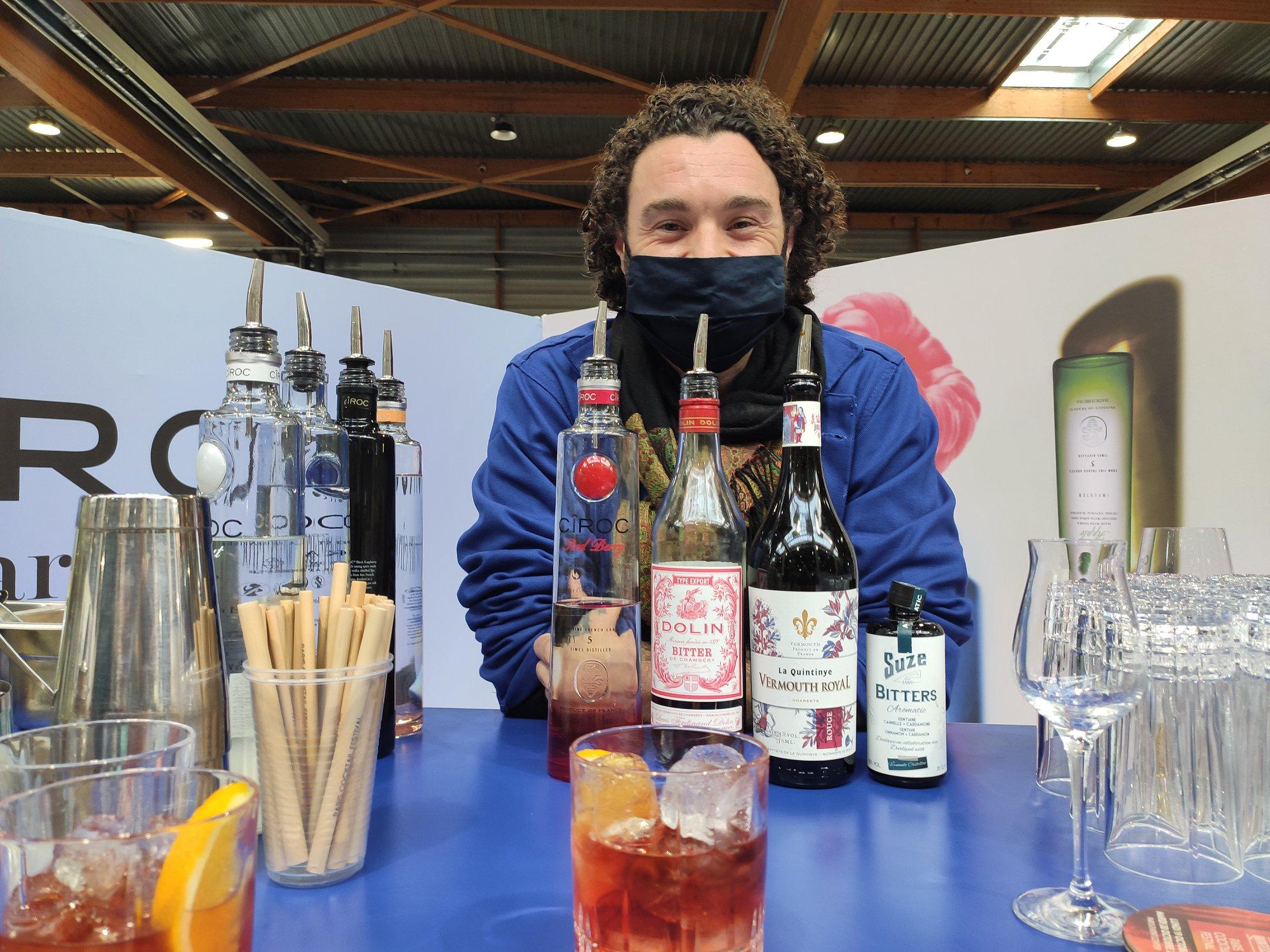 Cîroc vodka - Barman et cocktails