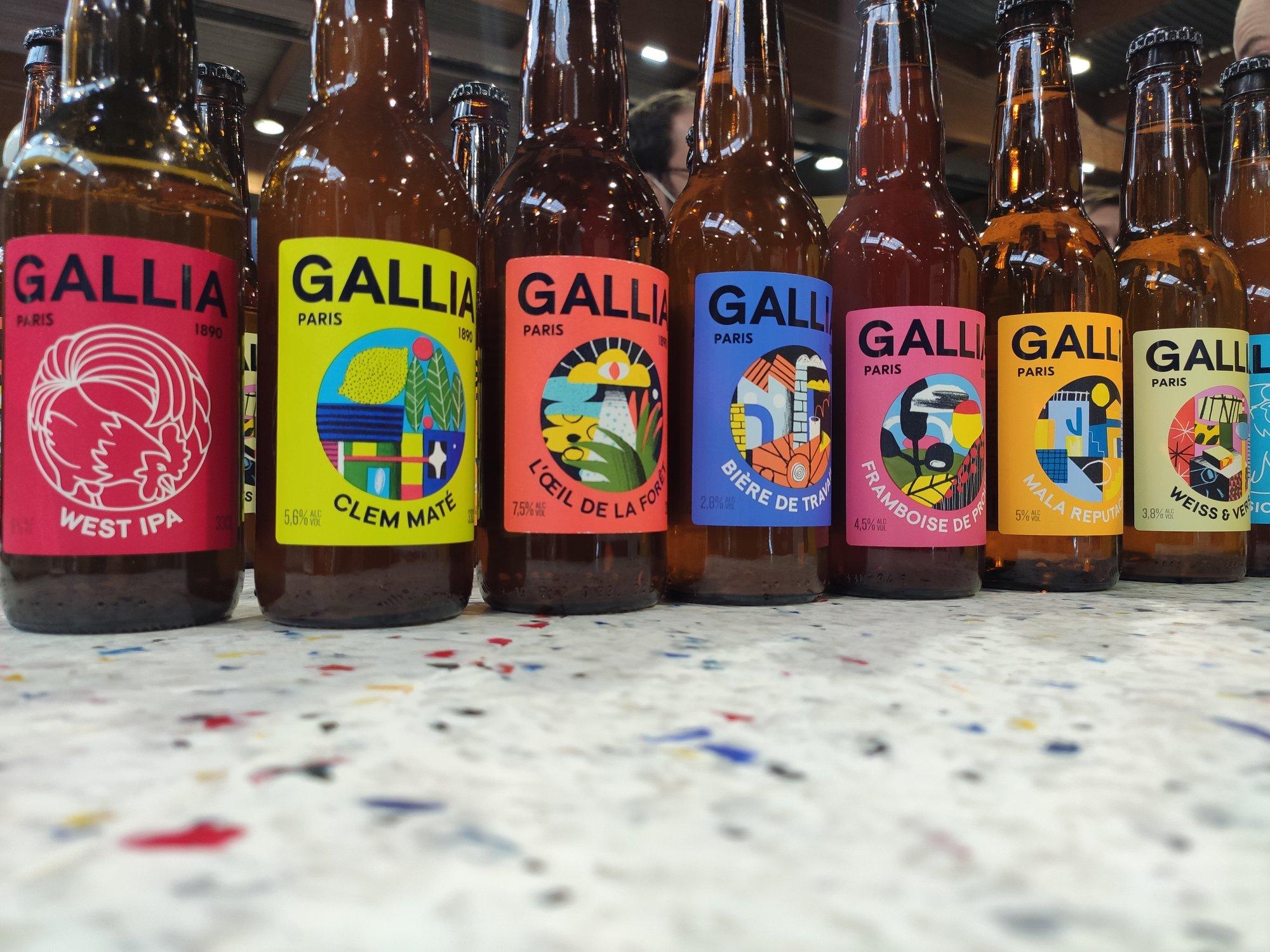 Bières Gallia - Craft brasserie à Pantin (93)