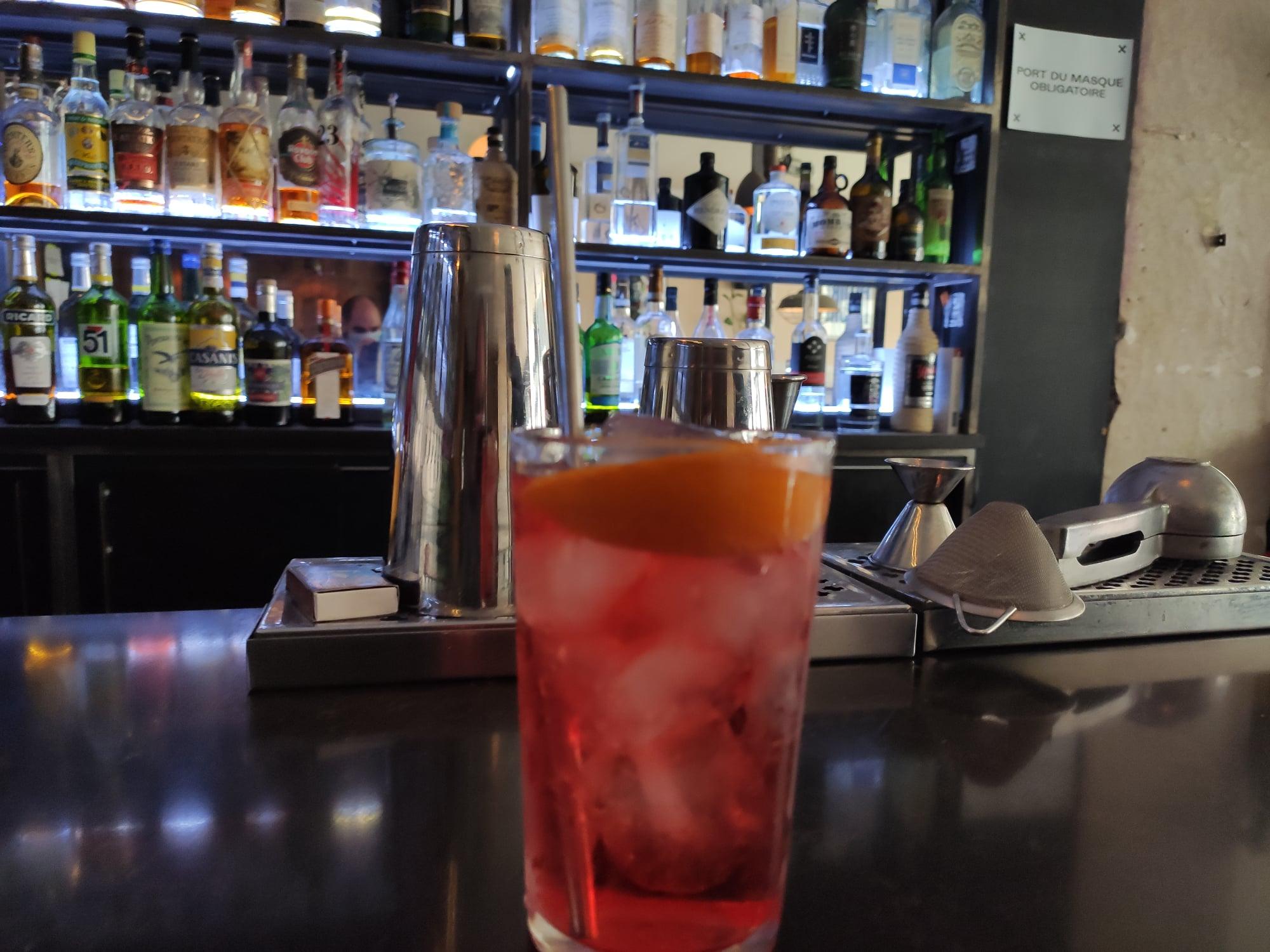 Spritz à la pression - Outland Bar