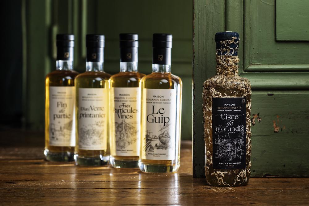 Maison Benjamin Kuentz - Gamme de whisky français