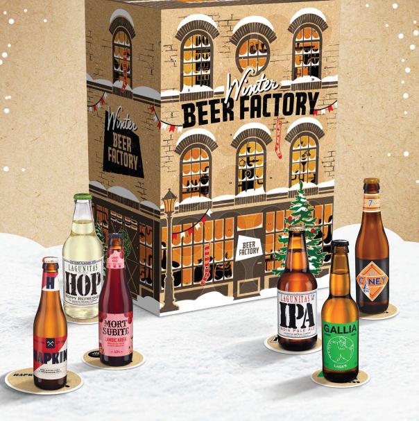 Winter Beer Factory - Bières craft Heienken coffret cadeau Noel