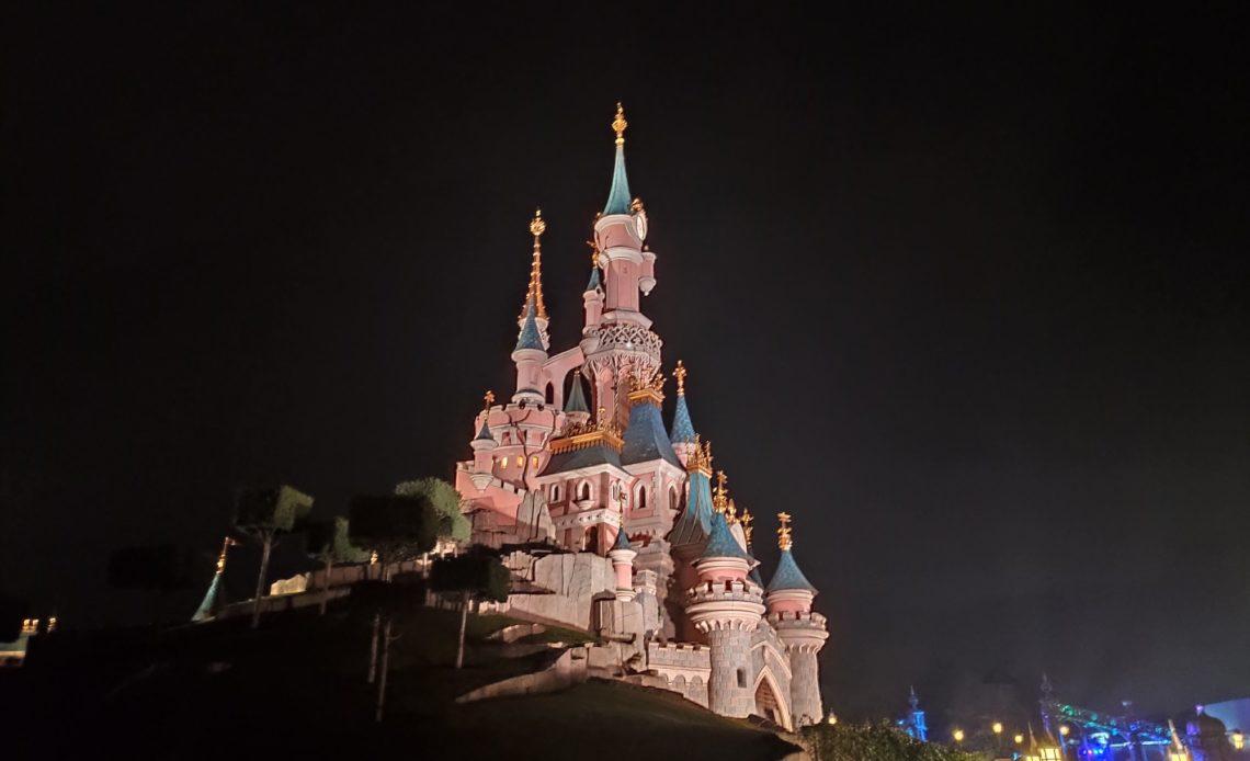 Disneyland Paris - Chateau de nuit - 29 octobre 2020