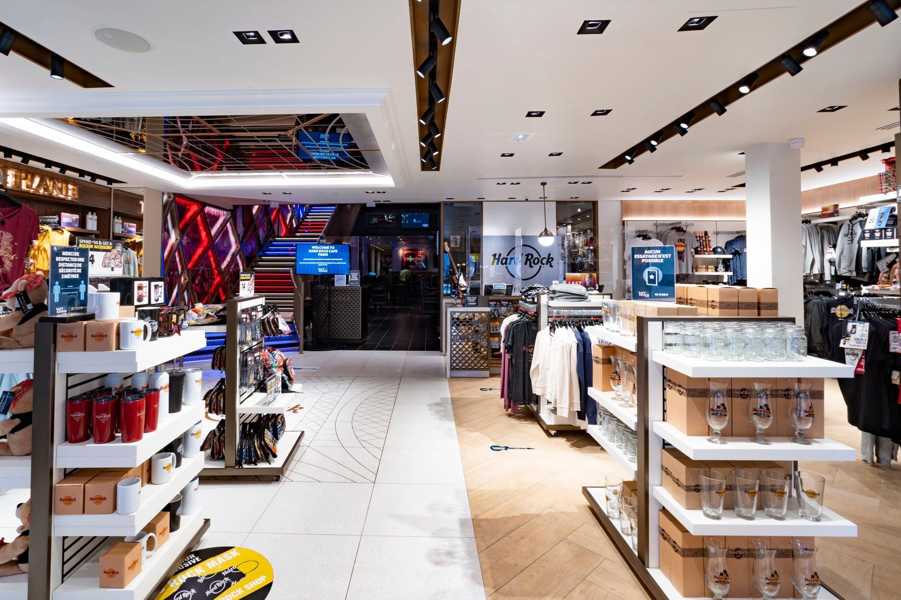Hard Rock Cafe Paris - Nouvelle boutique Rock Shop