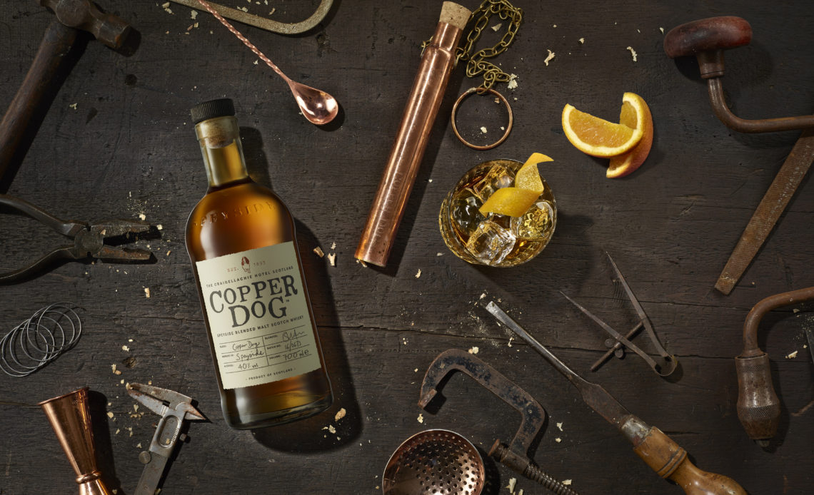 Whisky Copper Dog et son dipper