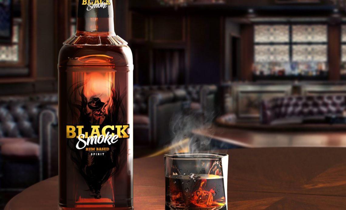 Black Smoke - Liqueur de rhum