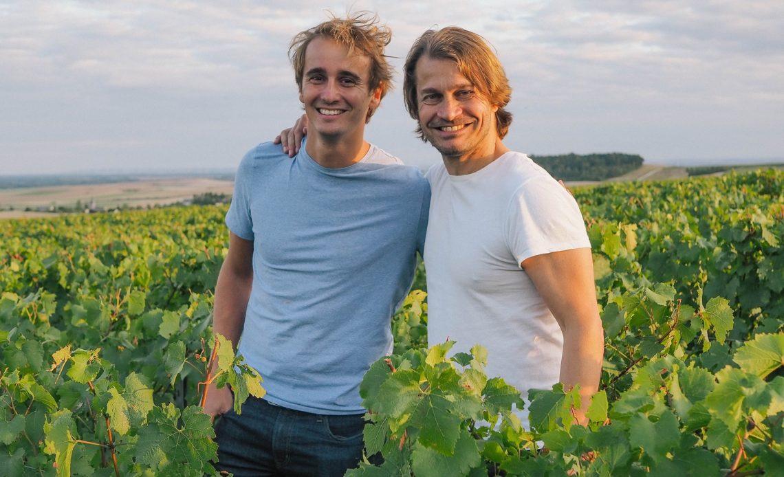 Edouard Roy et Jerôme Queige - Champagne EPC