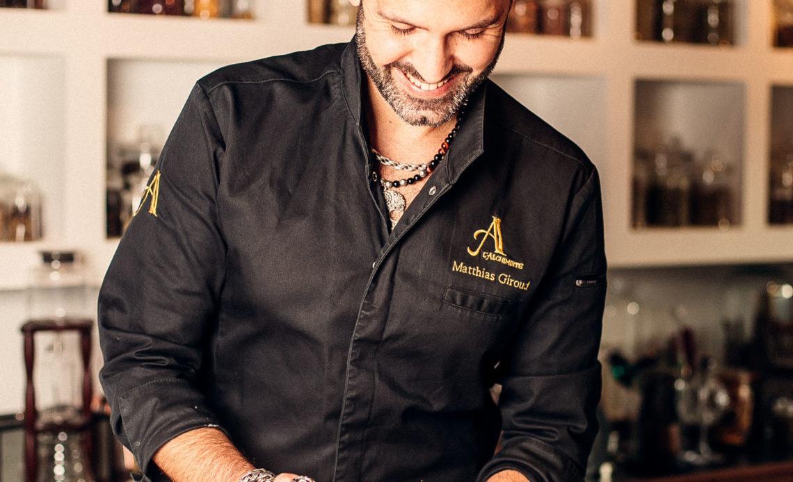Matthias Giroud - Bartender - L'Alchimiste - WM Signature