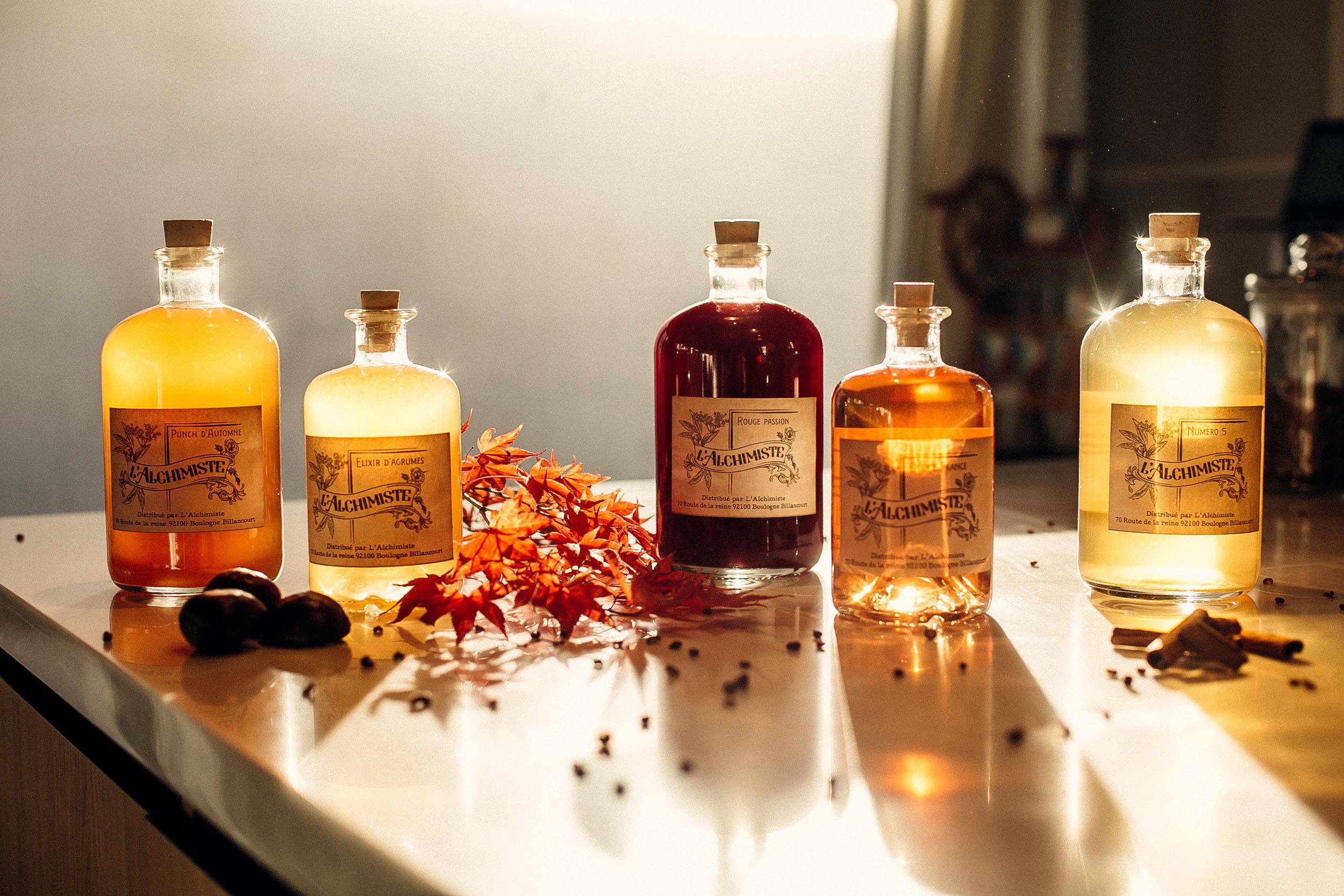 Cocktails L'Alchimiste chez vous
