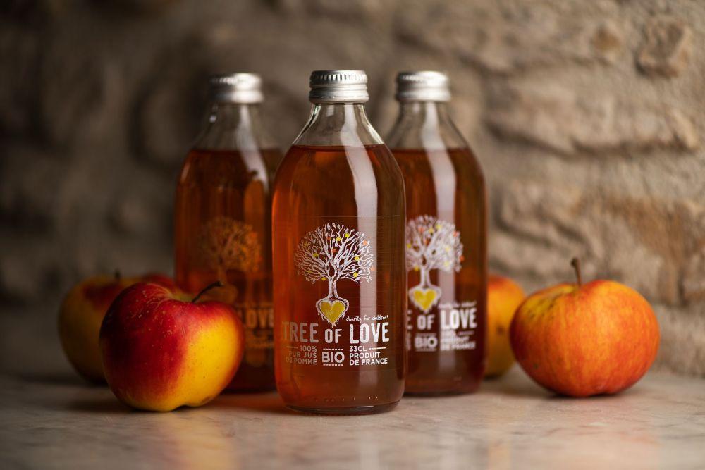 Tree of Love - Jus de pommes bio