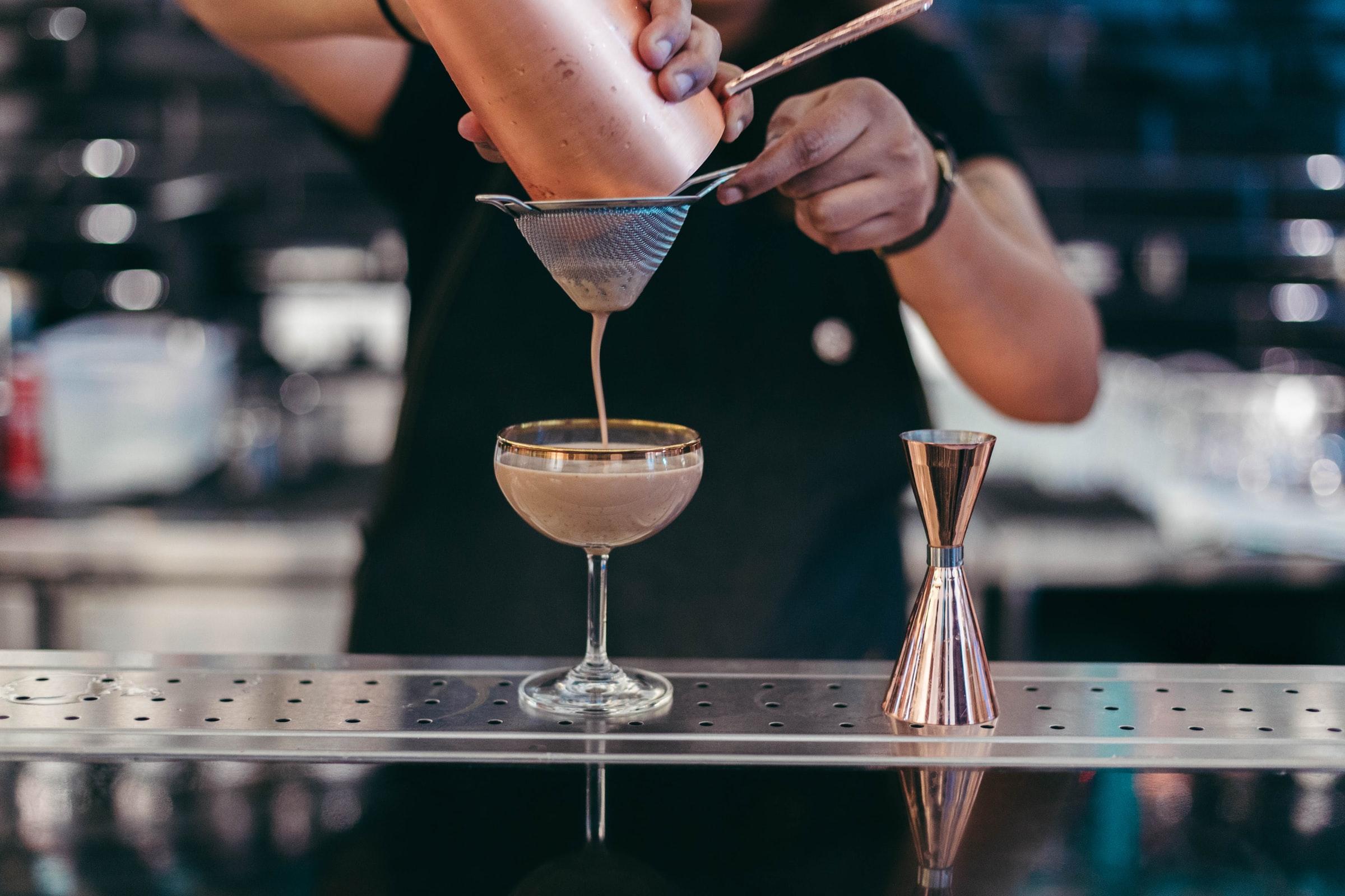 Bartending - Cocktail au shaker filtré