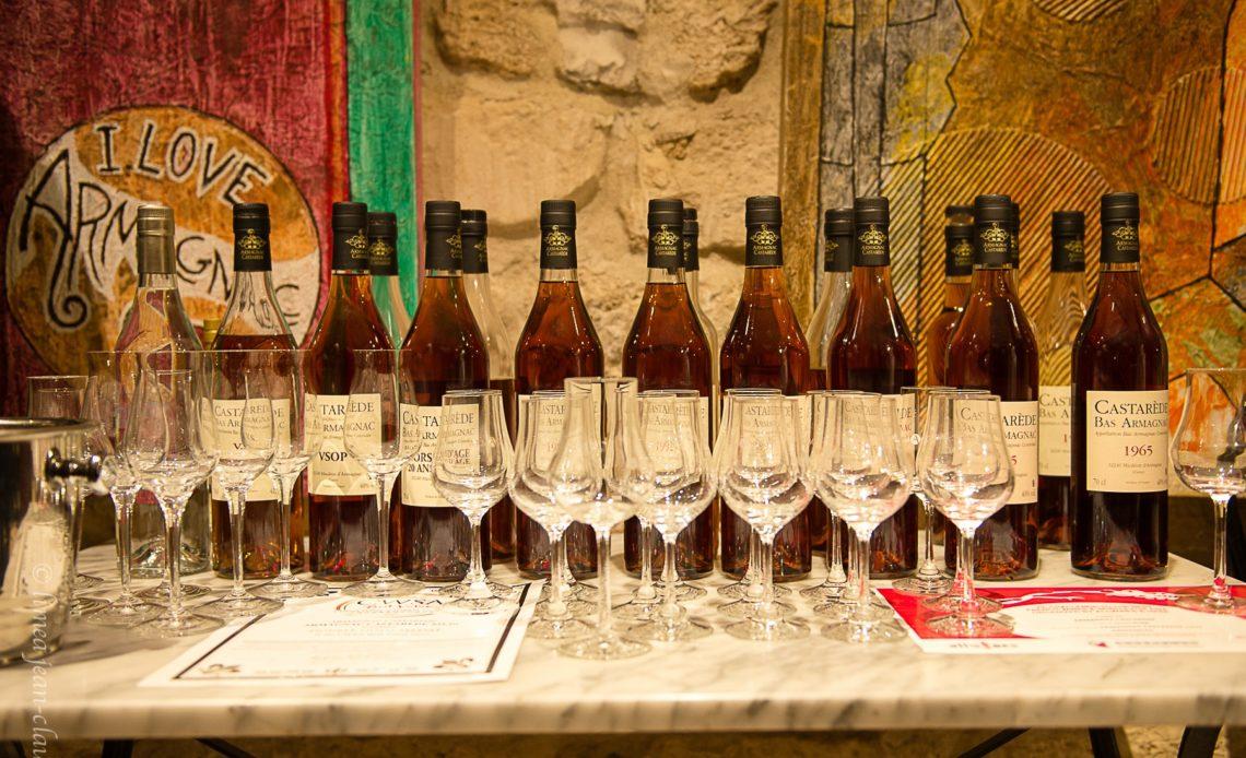 Armagnac Castarède - Drinks tasting