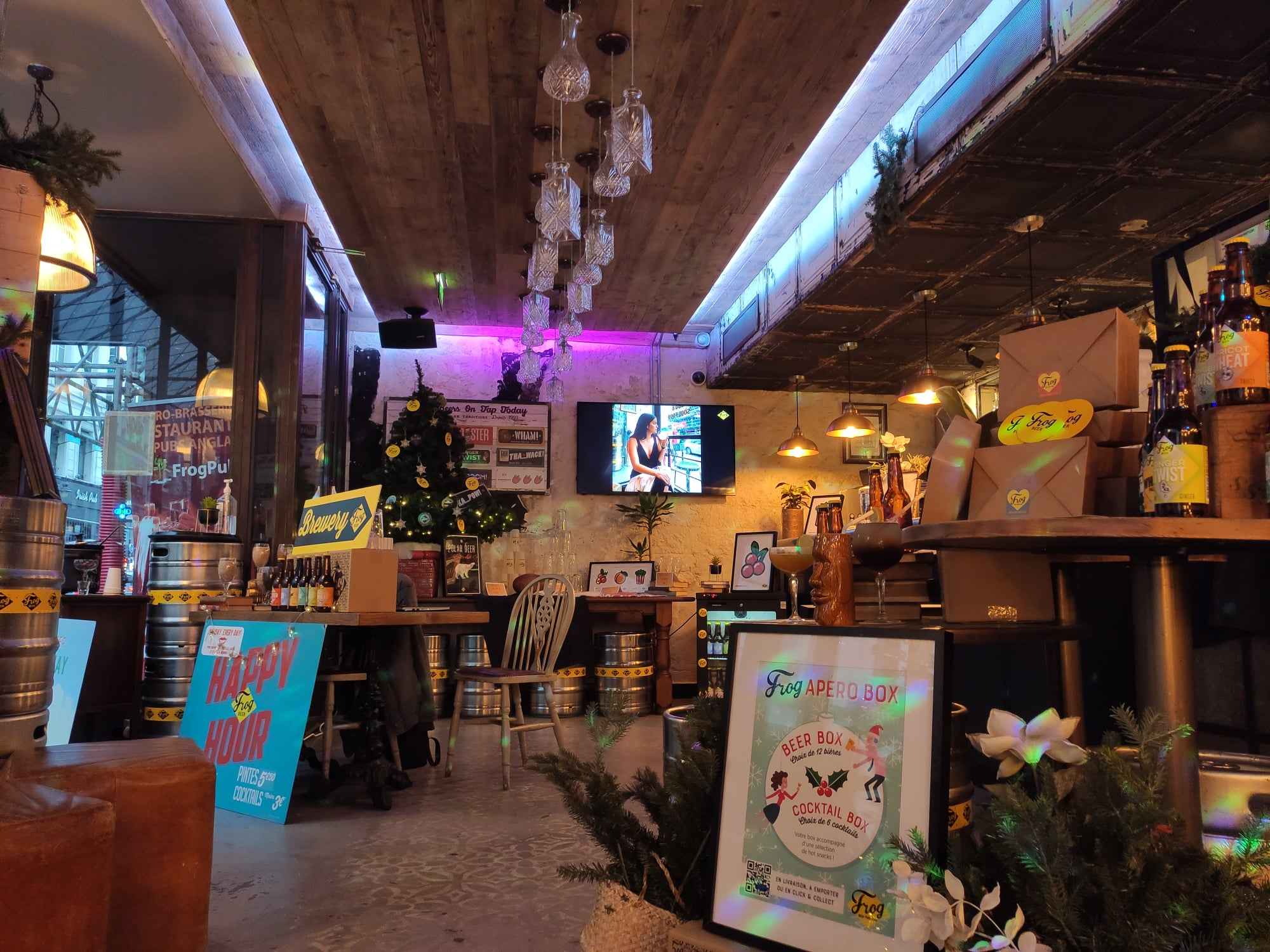 The Frog & Underground - Boutique de Noel 2020 - Paris