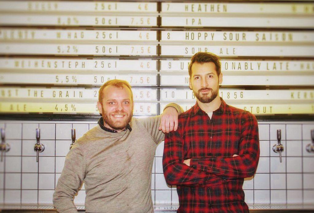 Kévin Lieurade et Olivier Deval - Bar à bières IBU - Paris 10