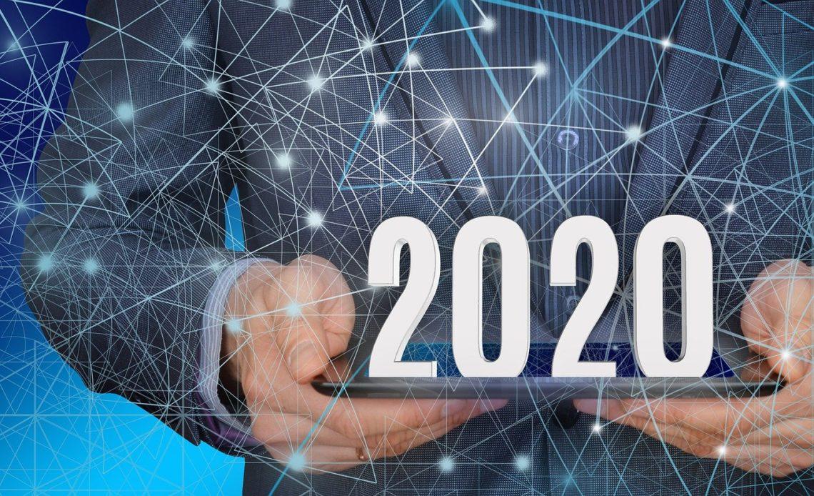 Image année 2020 économique
