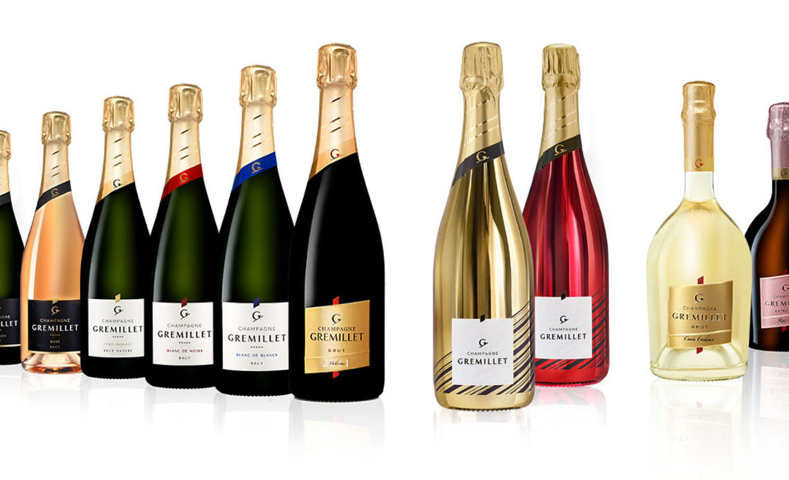 Champagne Gremillet - Collection de champagnes