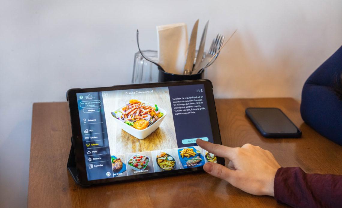 TastyCloud - Digitalisation des menus sur tablettes