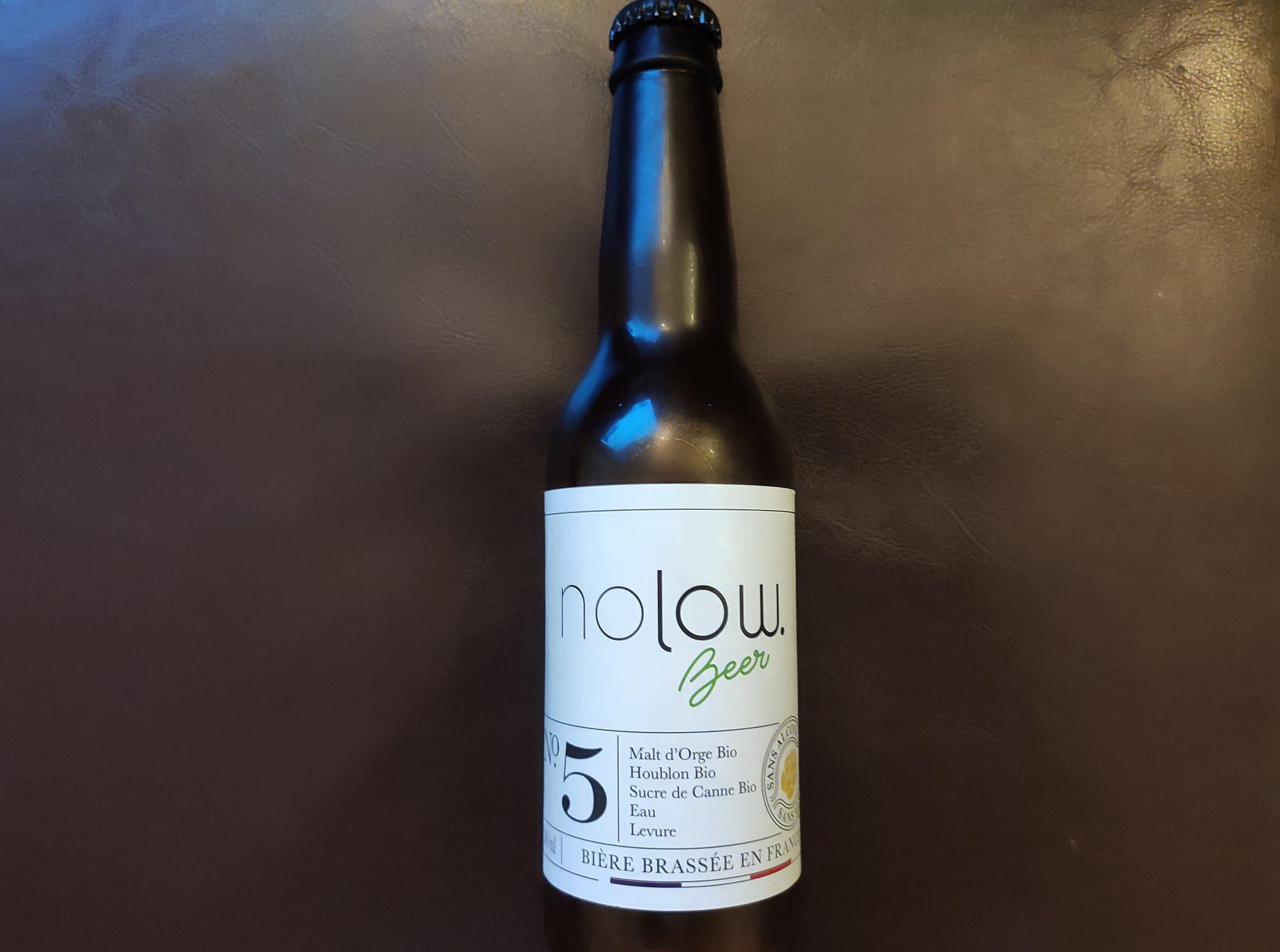 Nolow Beer - Bière sans alcool