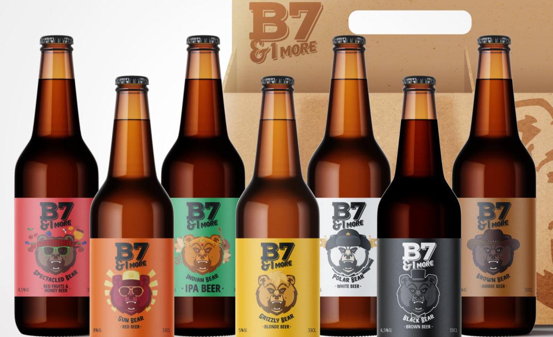 Bières craft B7 & 1 more