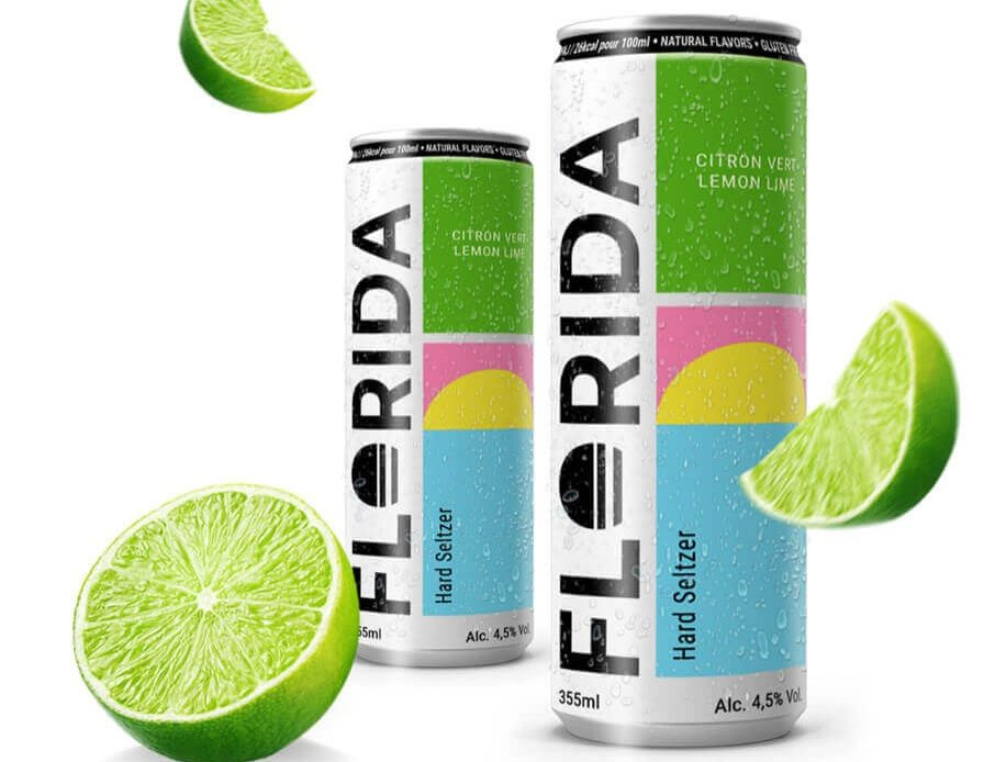 Florida Hard Seltzer - Packshot France