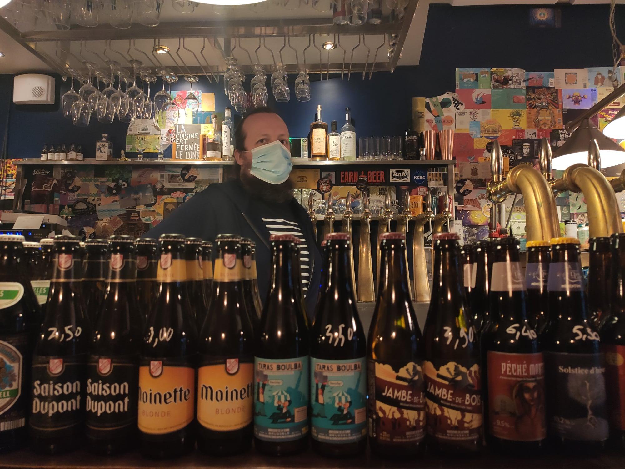Bar à bières artisanales - Hoppy Corner - Paris