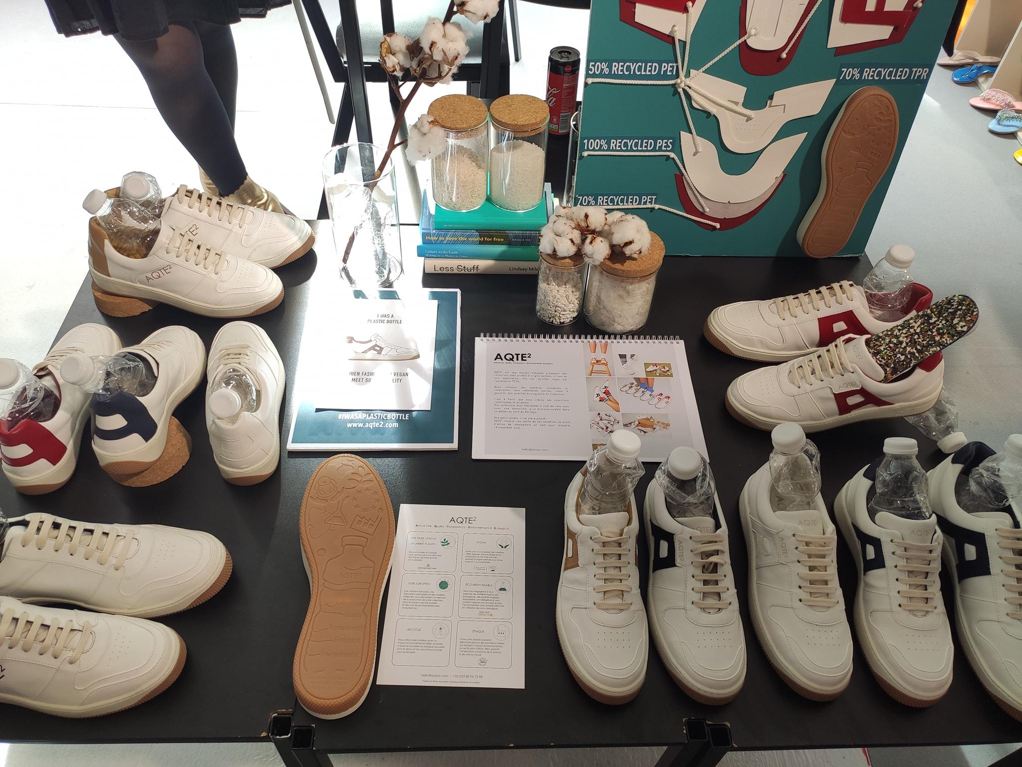 Aqte2 - Chaussures en microfibre