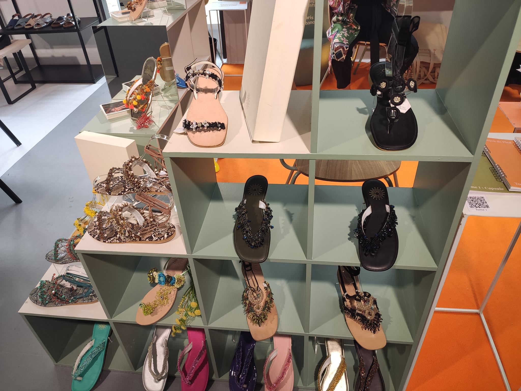Bijou de Pied - Chaussures décorées