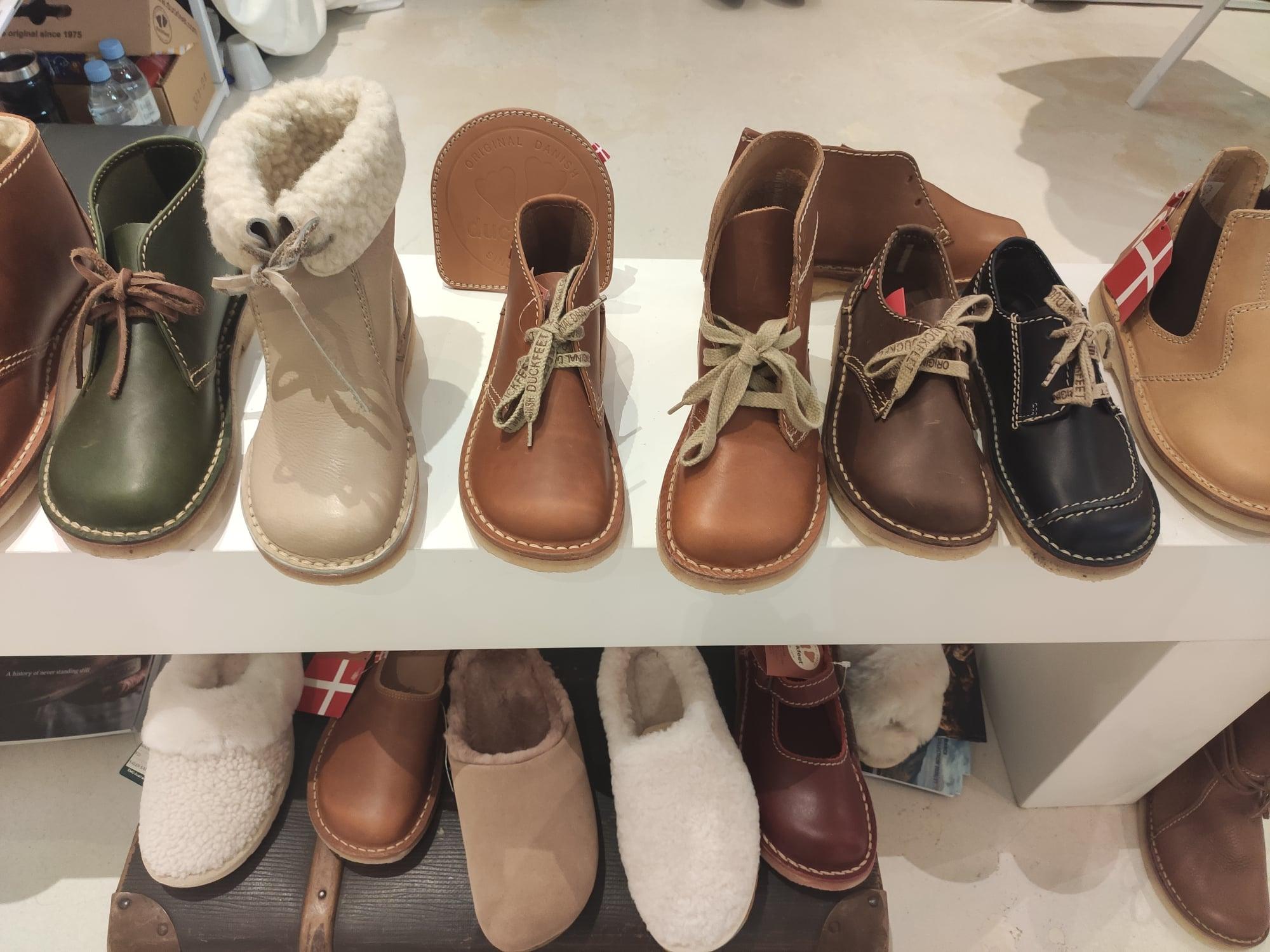 Chaussures et chaussons (Duckfeet)