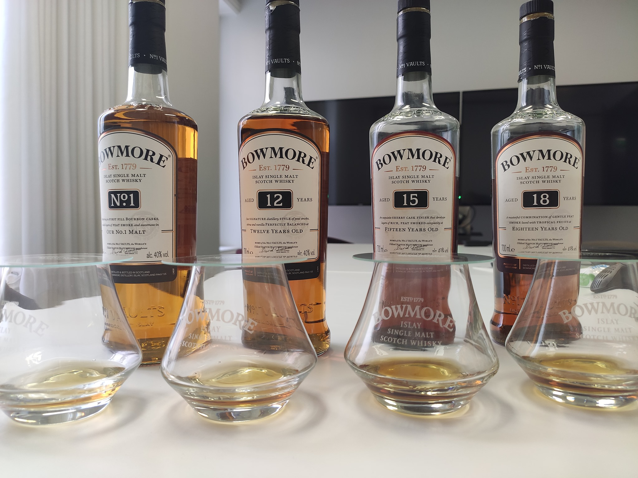 Dégustation de whisky Bowmore