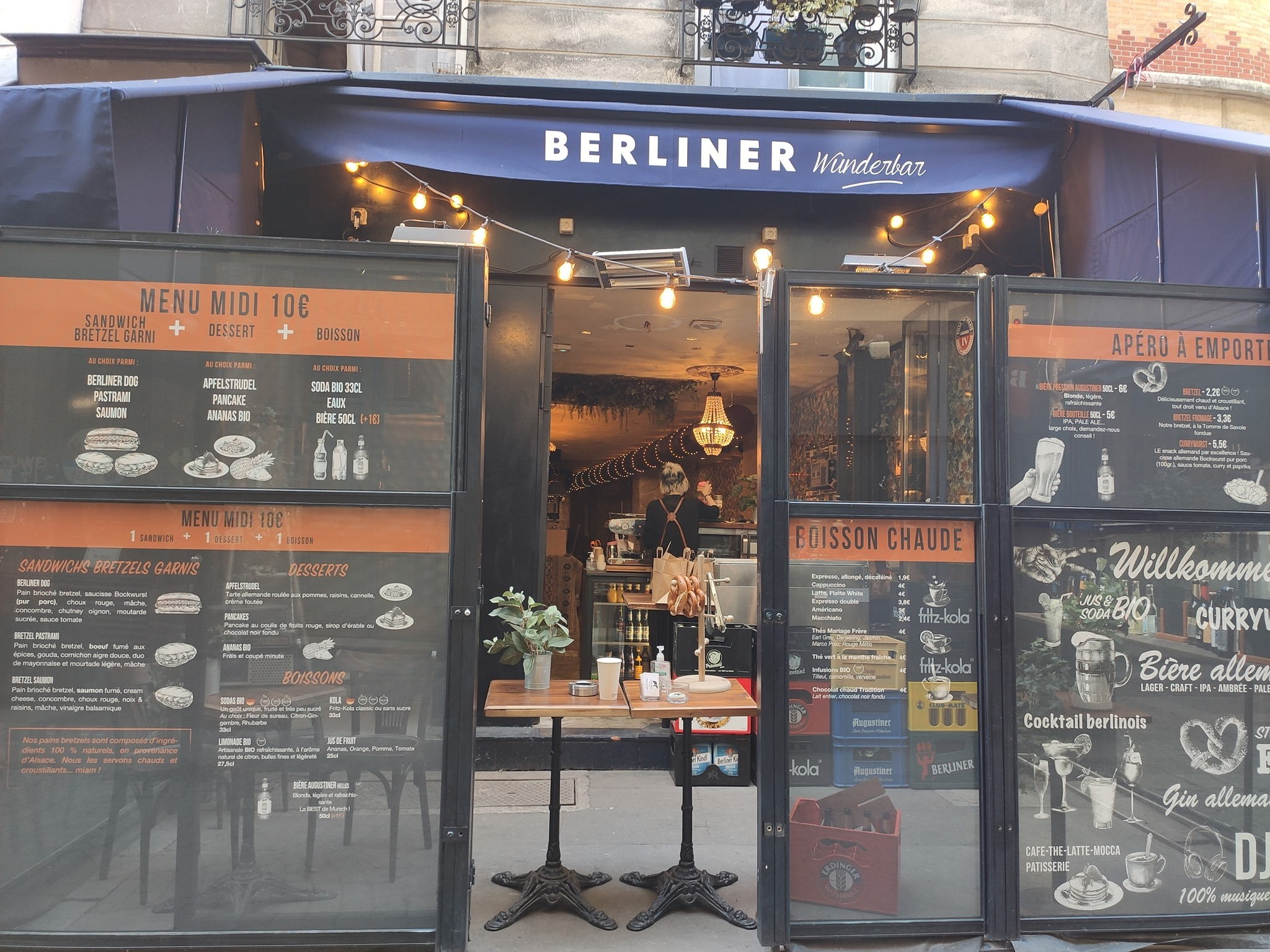 Berliner Wunderbar Châtelet - Paris - Take away