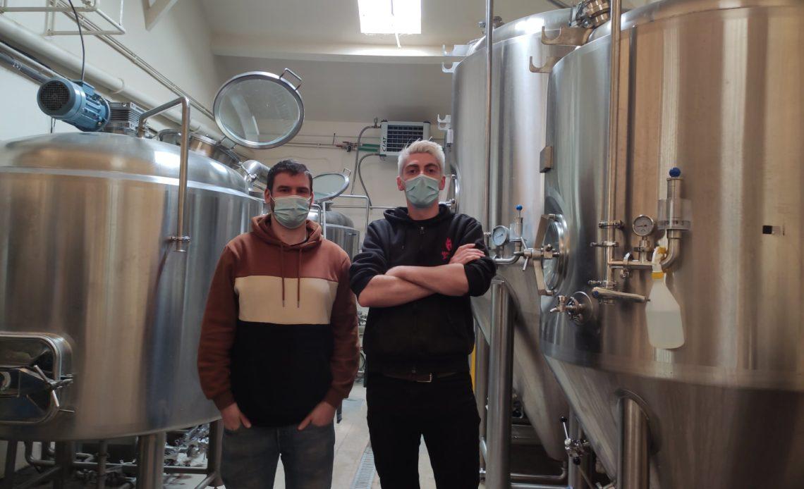 Thomas Corbé et Thibault Buekenhout - Brasserie 3ienchs