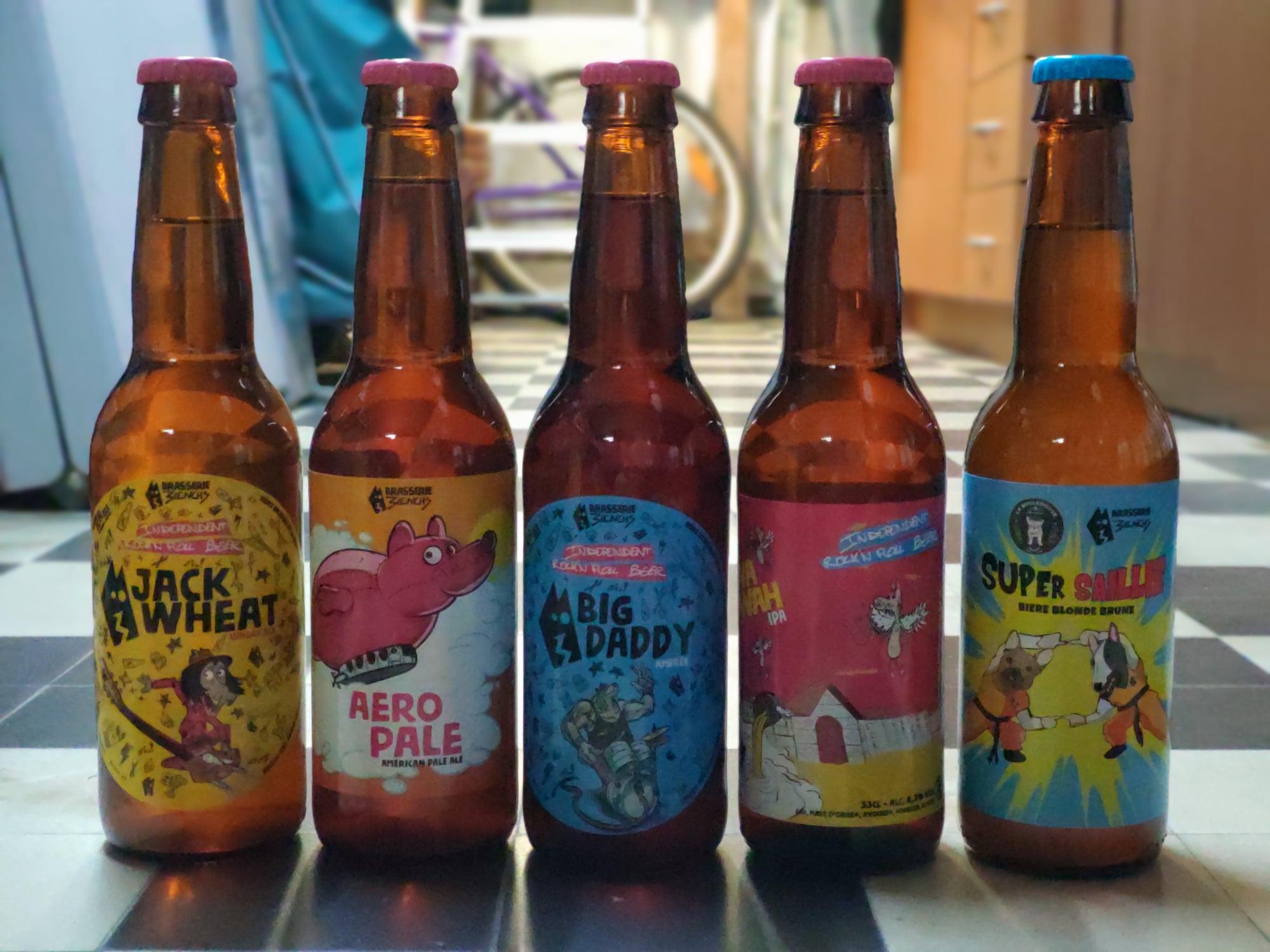 Bières artisanales 3ienchs