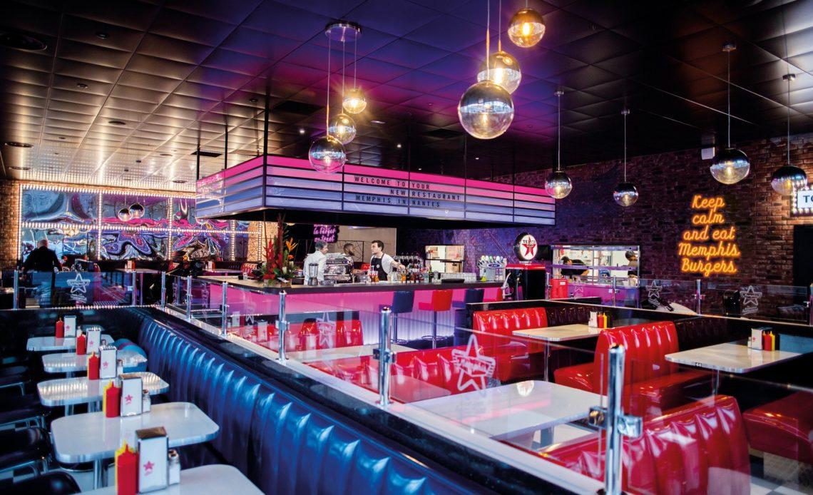 Restaurants Memphis - Diners américains