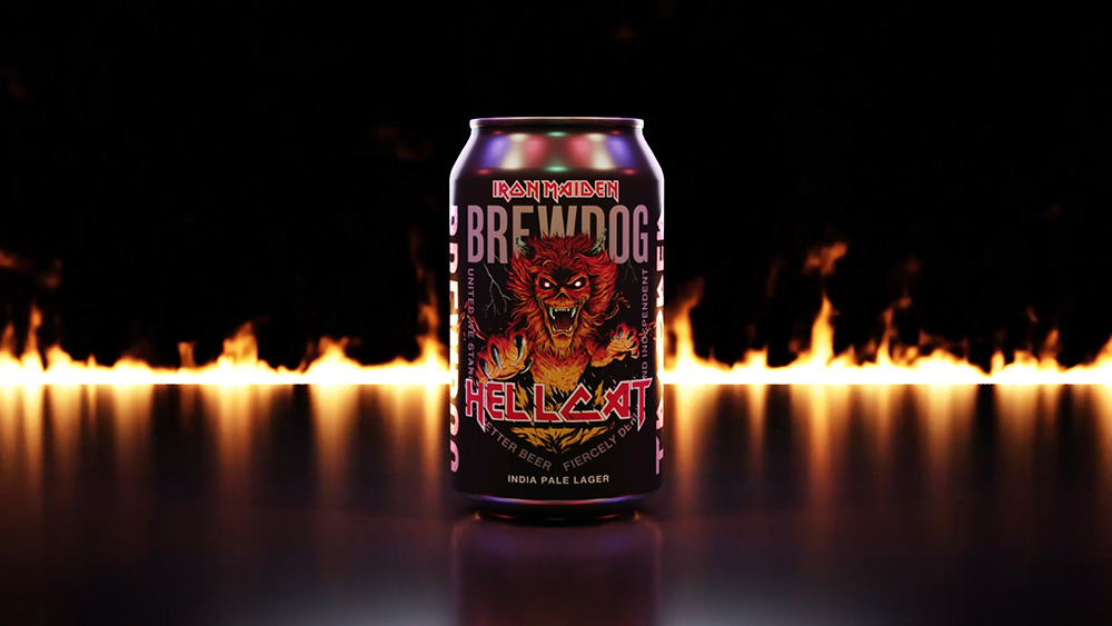 Hellcat : bière BrewDog x Iron Maiden