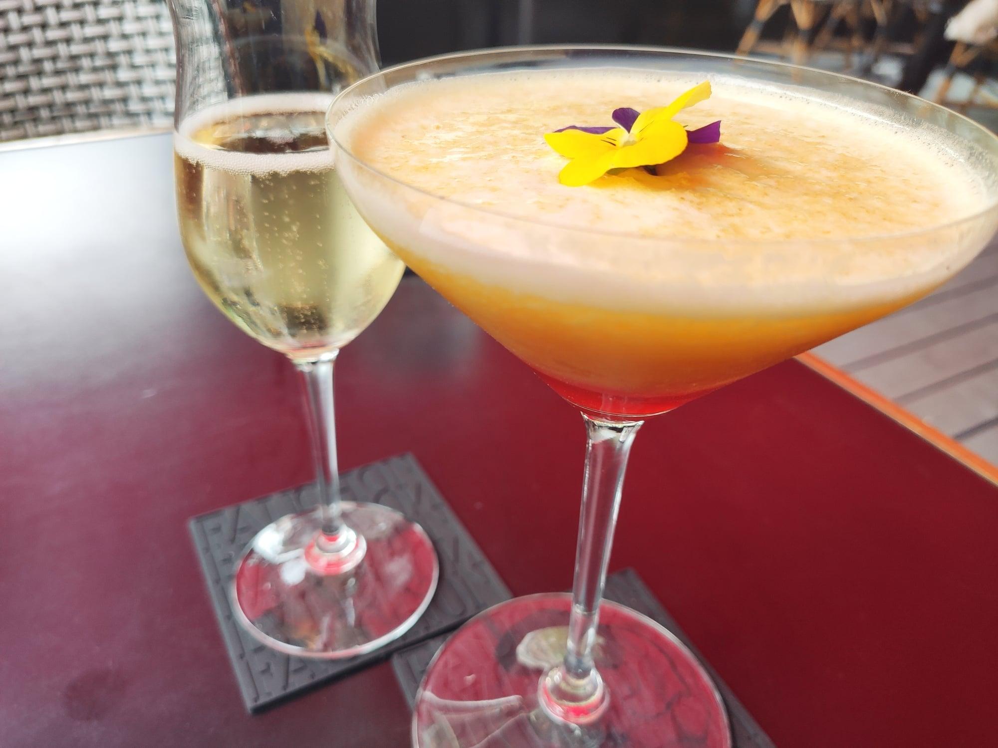 Cocktail - Passion fruit martini - Fauchon l'hotel