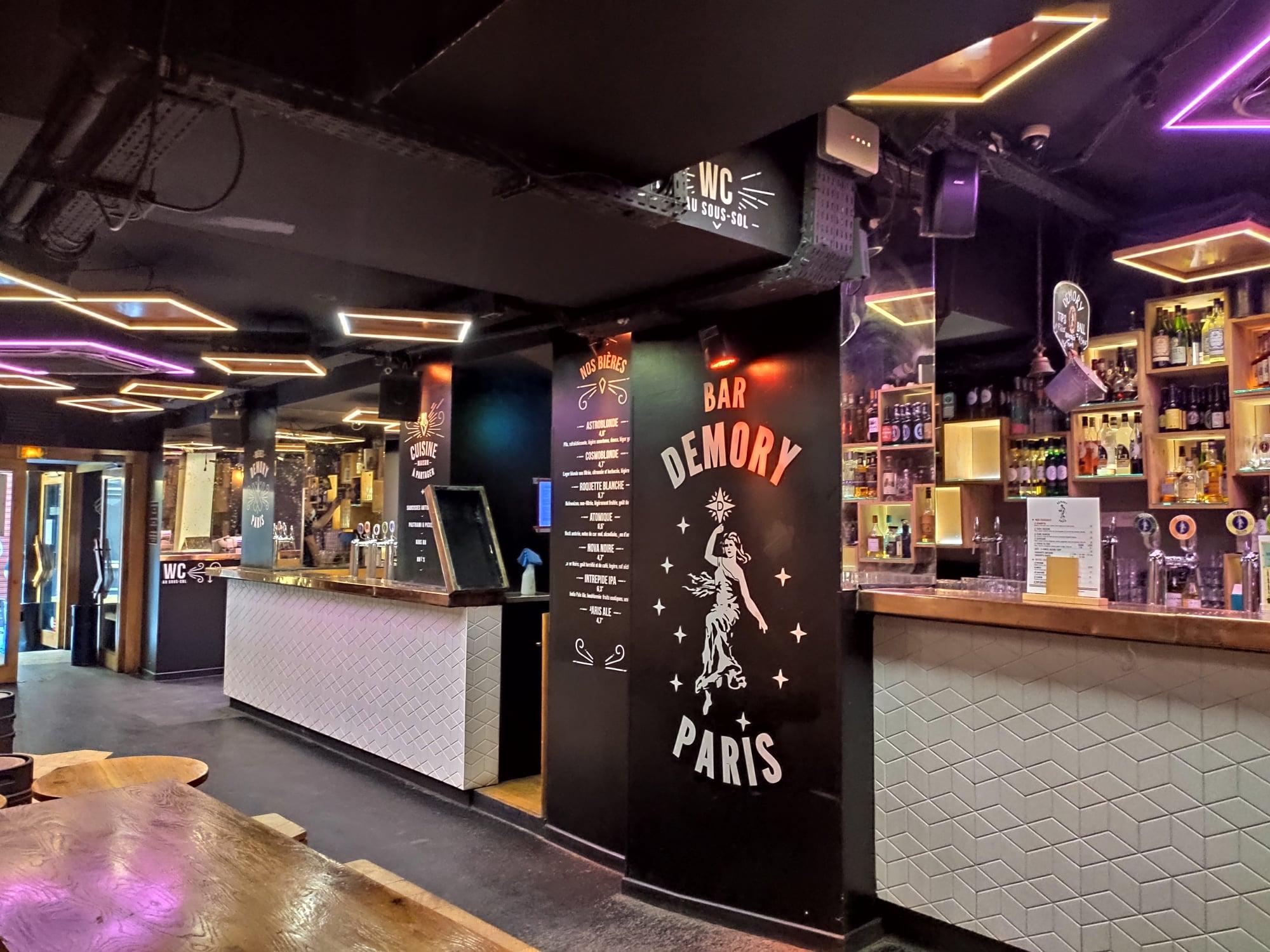 Bar Demory Paris - Châtelet