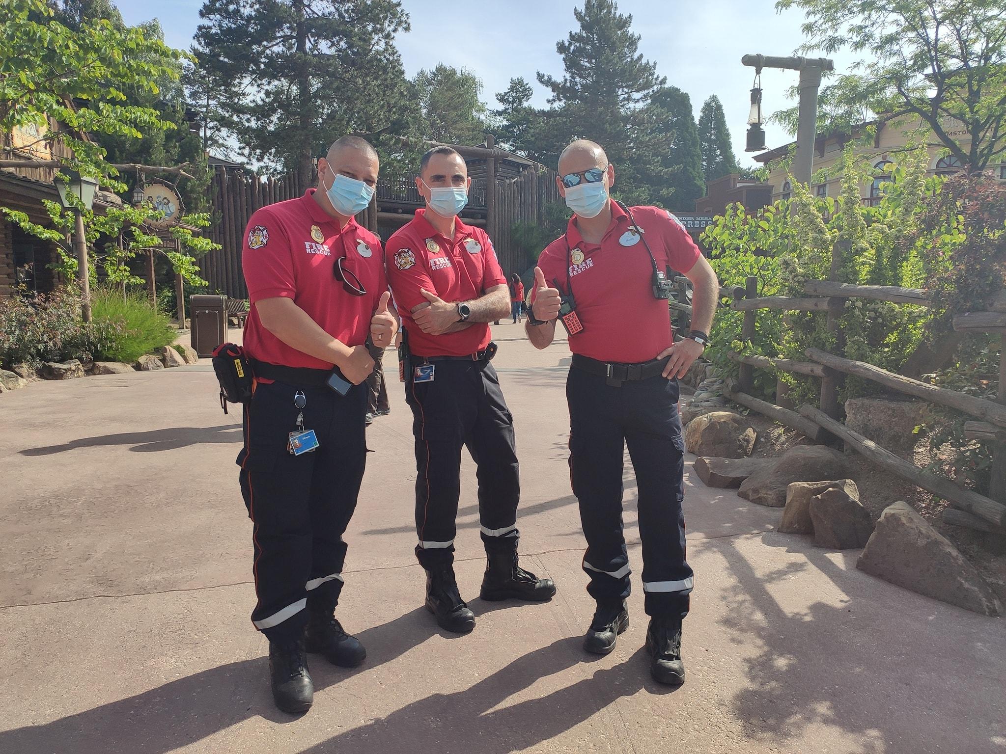 Fire & Rescue - Pompiers Disneyland Paris - Opérations de secours
