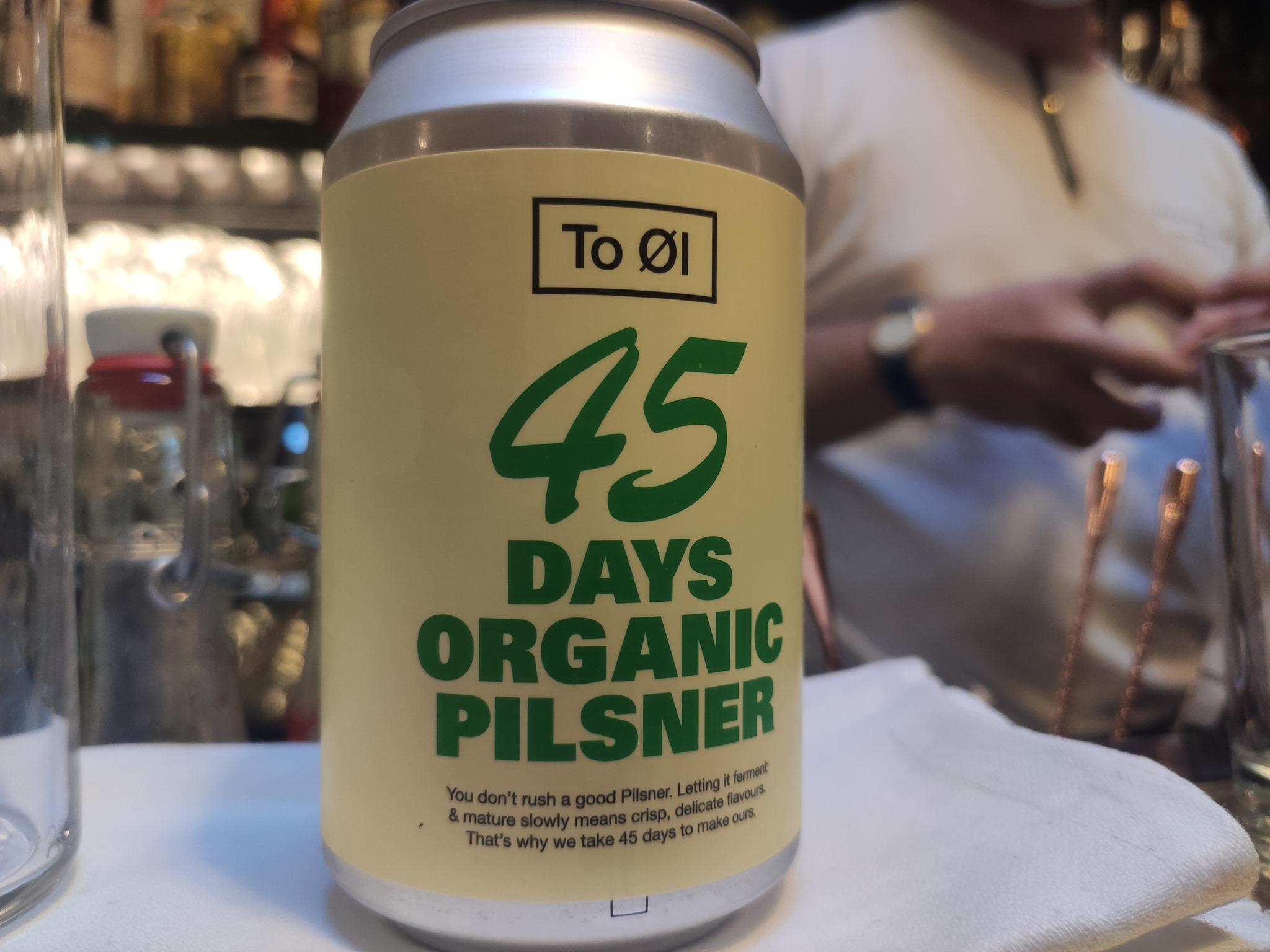 Bière To Ol - 45 days organic pilsner