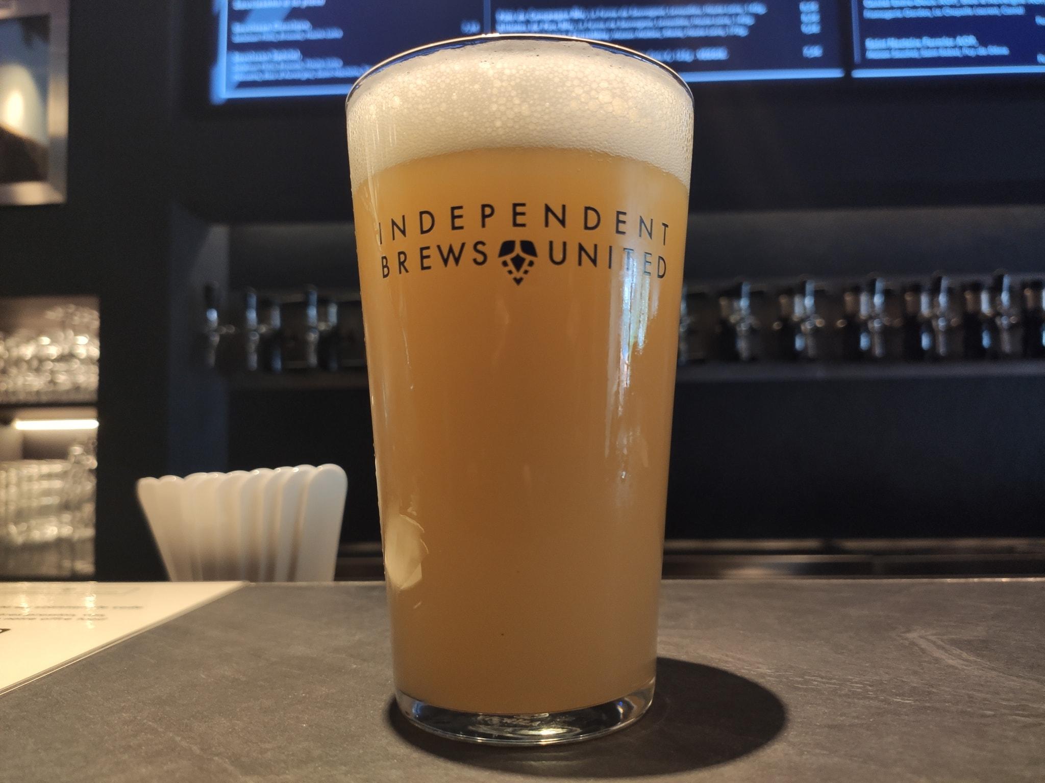 Pinte de craft beer - IBU Oberkampf - Independent Brews united