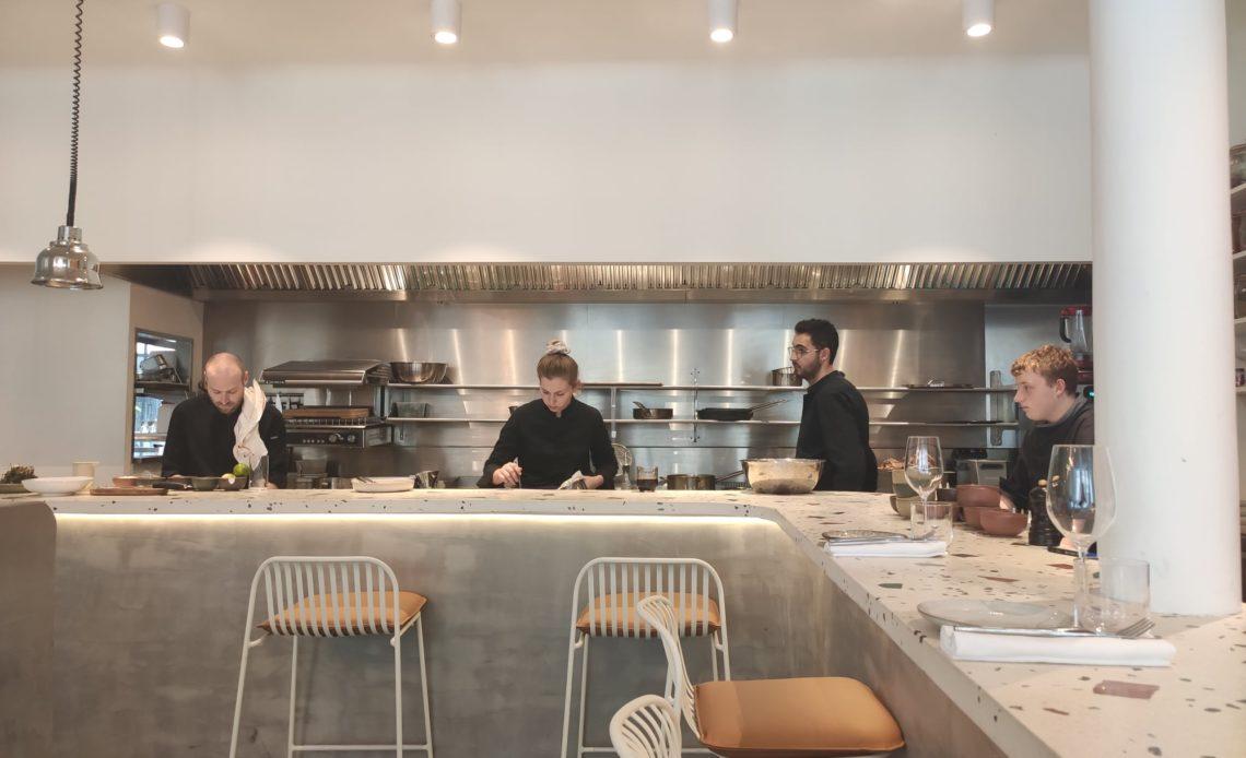 Personnel de cuisine - Restaurant Magniv (Paris)