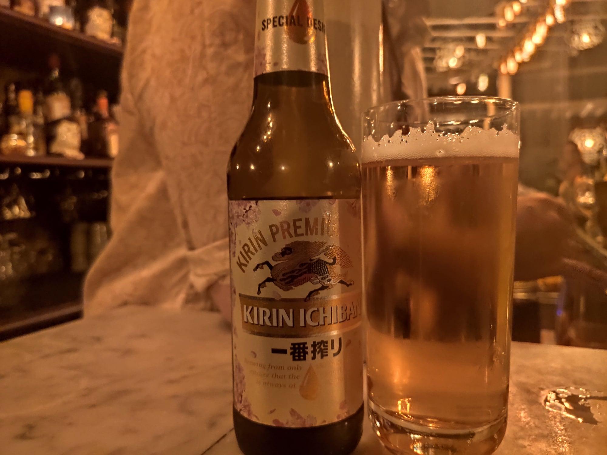 Bière Kirin Ichiban - Lulu White