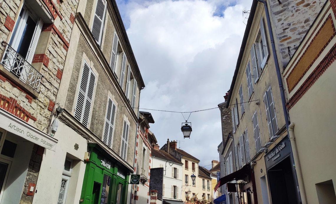 Centre-ville de Fontainebleau