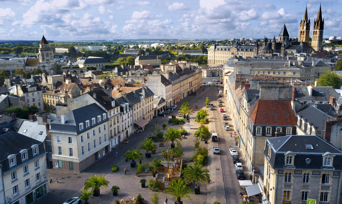 Ville de Caen - Place Saint-Sauveur