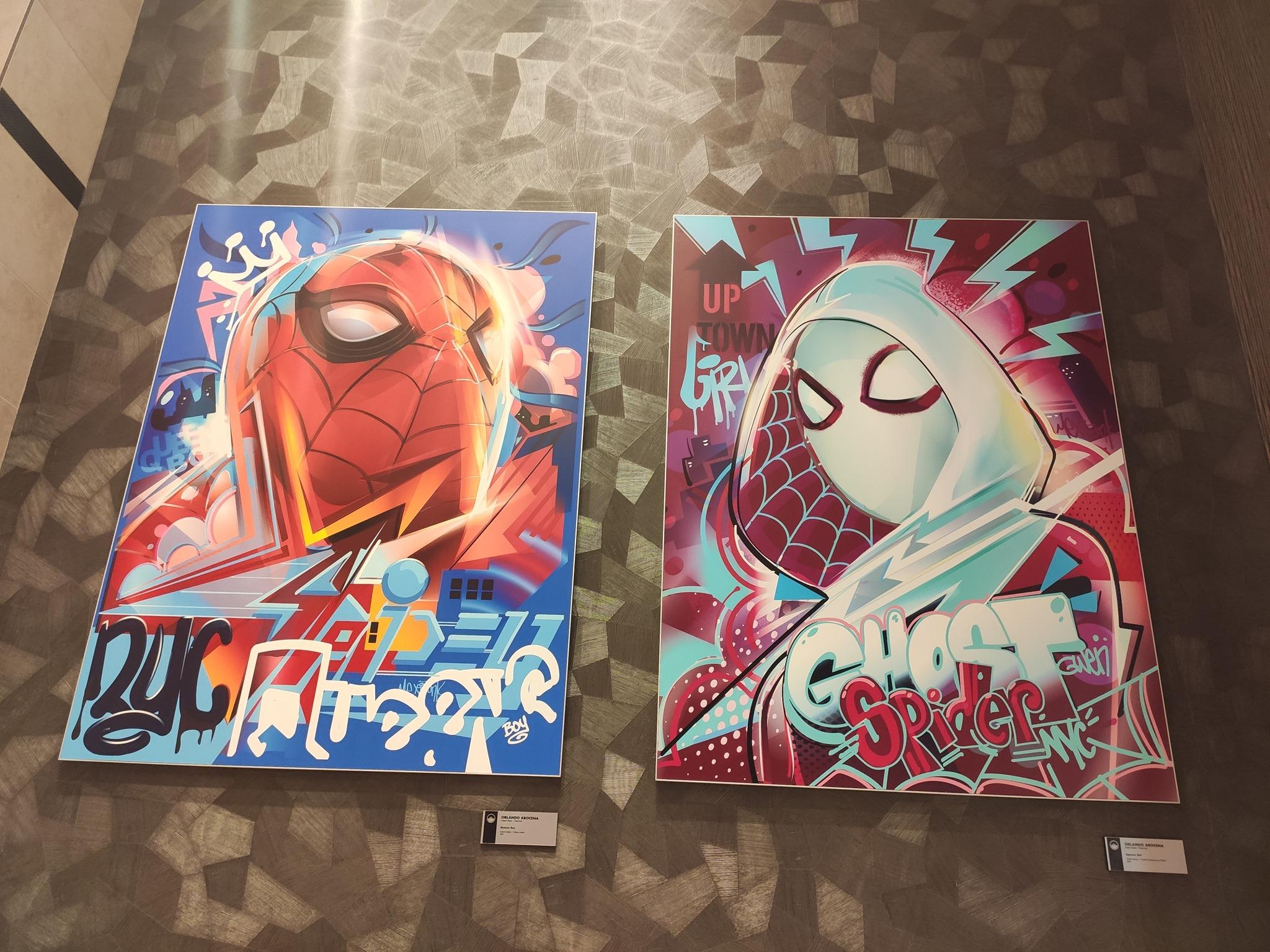 Street art - Disney's Hotel New York - The Art of Marvel