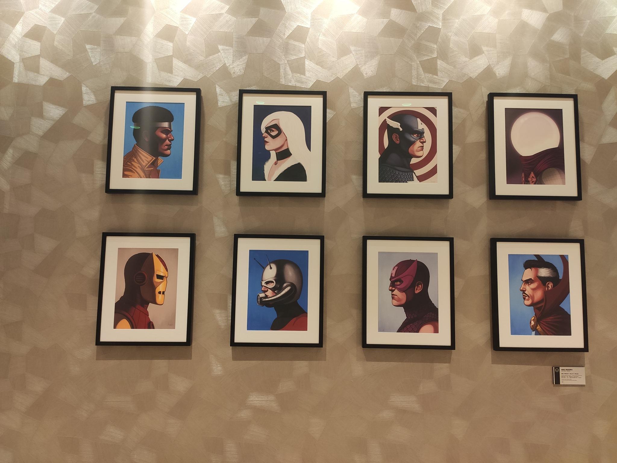 Couloir bas - Disney's Hotel New York - The Art of Marvel