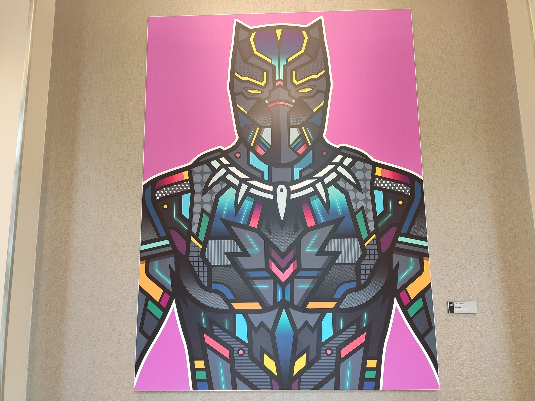 Oeuvres pop art - Disney's Hotel New York - The Art of Marvel