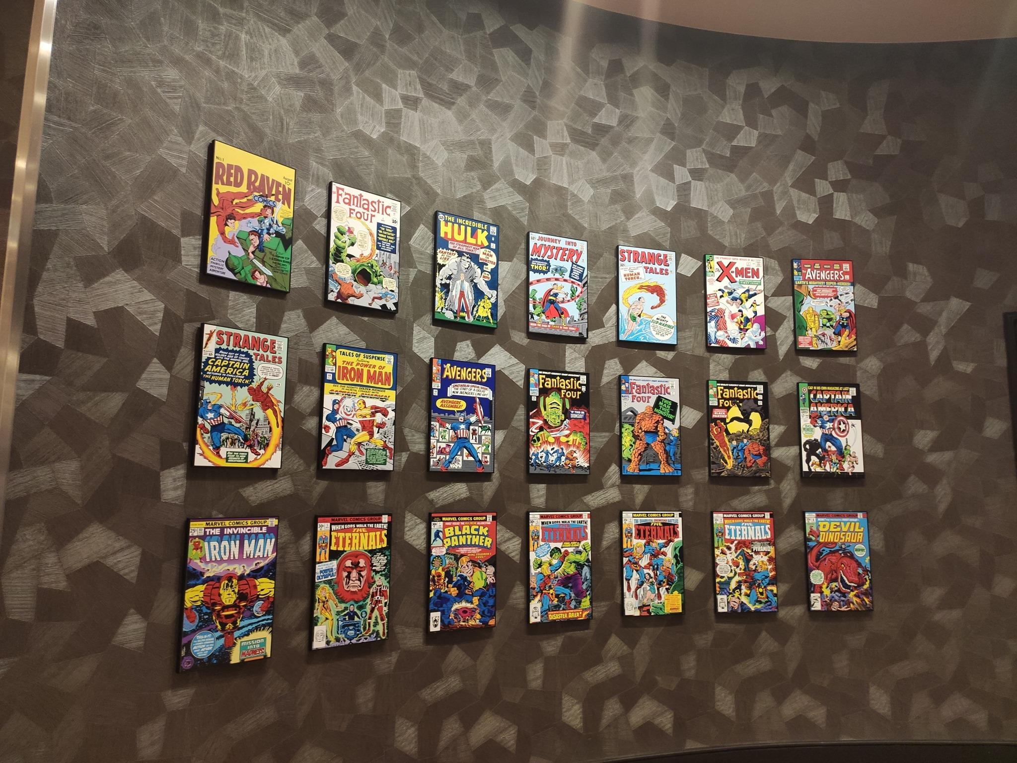 Legacy Gallery - Disney's Hotel New York - The Art of Marvel